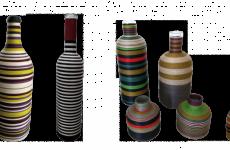 Carmen Pinart: botellas con mensaje